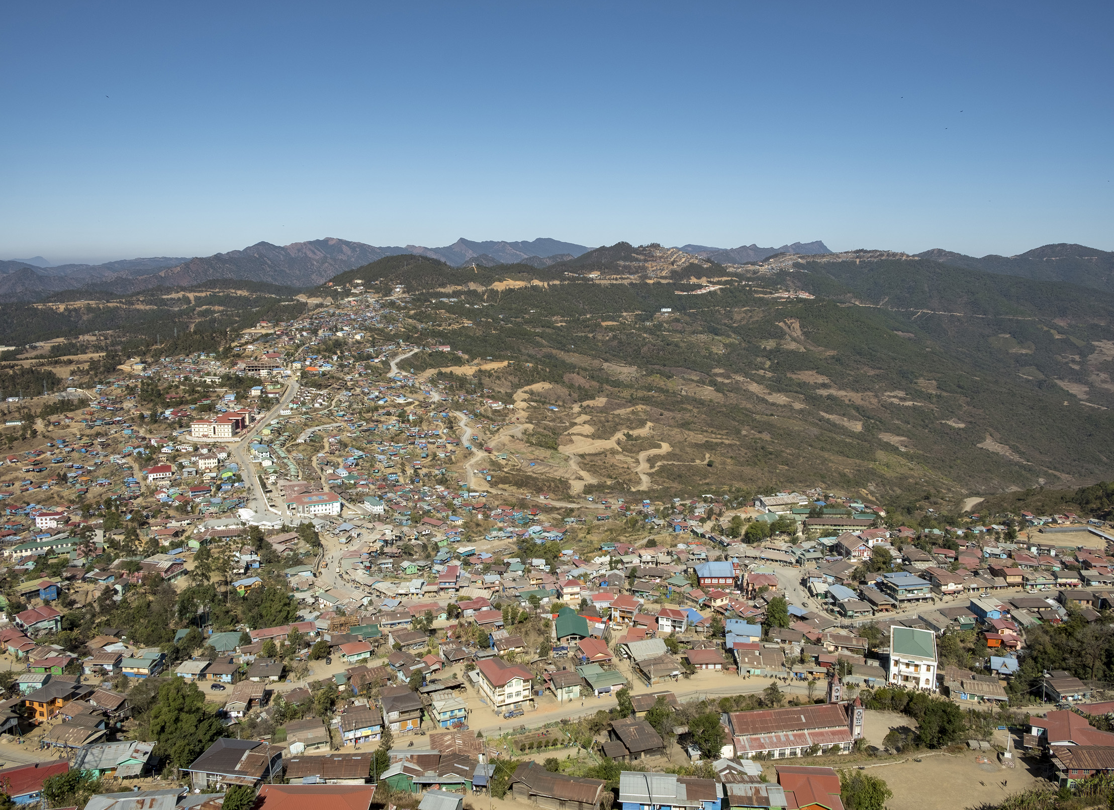 Hakha view » Myanmar Institute for Integrated Development